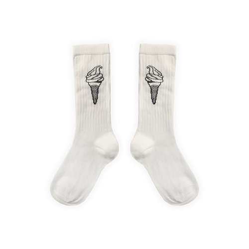 Sproet&Sprout Sport Sock Ice Cream Off-White S21-802