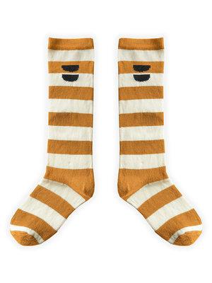 Sproet&Sprout High Socks Stripe Desert S21-803