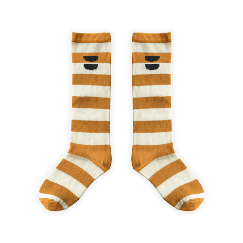 Sproet&Sprout High Socks Stripe Desert S21-803