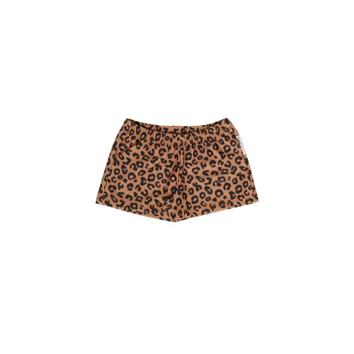 Maed for mini Brown leopard short 711