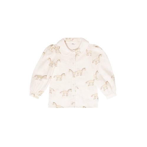 Maed for mini Unusual unicorn blouse