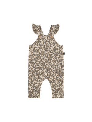 House of Jamie Baby girls dungree apple cider blossom jumpsuit