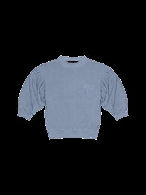 House of Jamie Balloon sweater faded denim