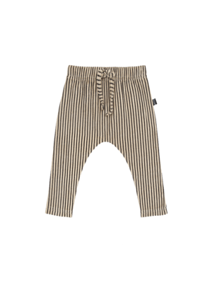 House of Jamie Baby pants charcoal sheer stripes