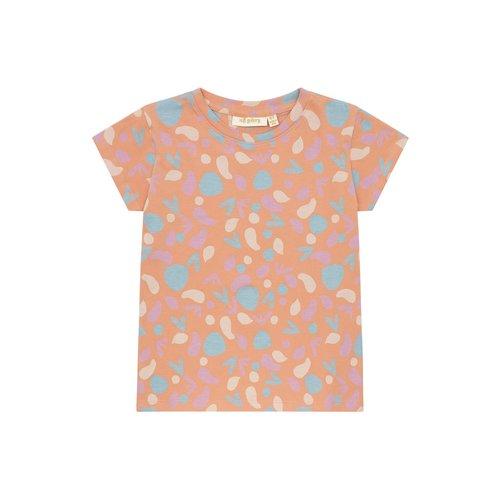 Soft Gallery Pilou T-shirt Sandstone shapes