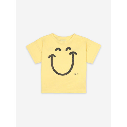 Bobo choses Big Smile Yellow Short Sleeve T-shirt