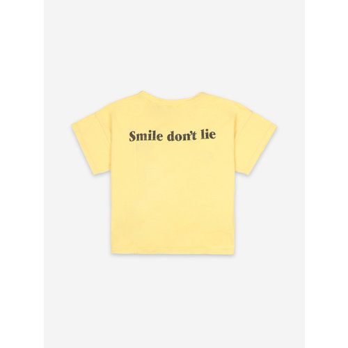 Bobo choses Big Smile Yellow Short Sleeve T-shirt