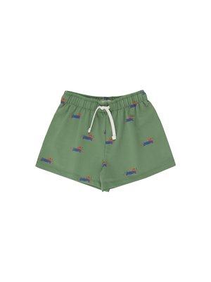 Tiny cottons DOGGY PADDLE SHORT *green/iris blue*