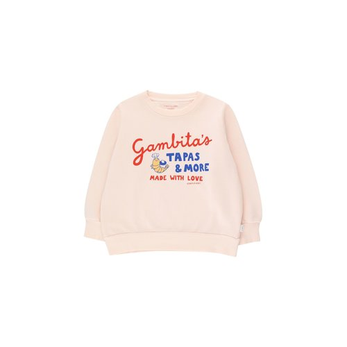 Tiny cottons GAMBITAS SWEATSHIRT *light cream/red*