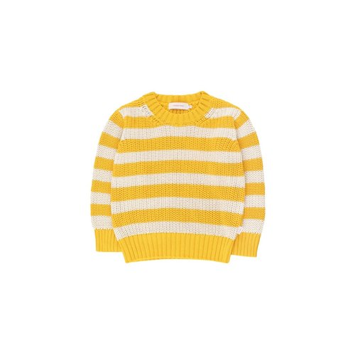 Tiny cottons STRIPES SWEATER *yellow/light cream*