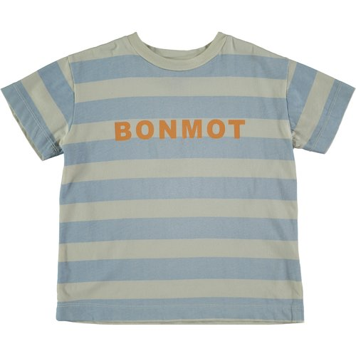 Bonmot T-shirt bonmot stripes ivory