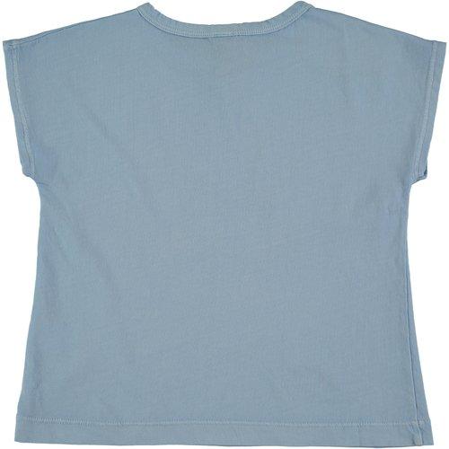 Bonmot T-shirt le sunset light blue