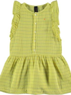 Bonmot Dress frill stripes dot