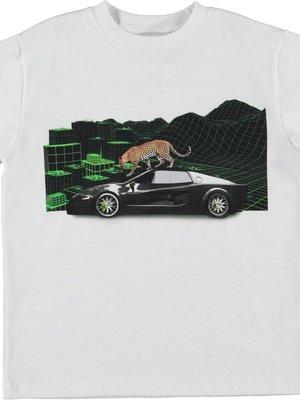 Molo Roxo techno leopard tshirt