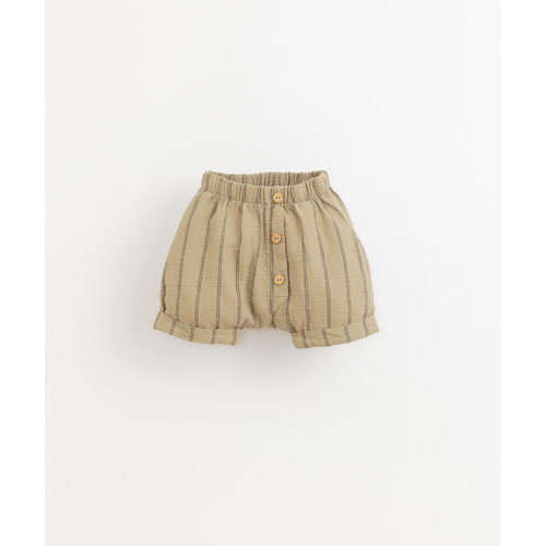 Play Up Striped woven shorts 11705 P7154