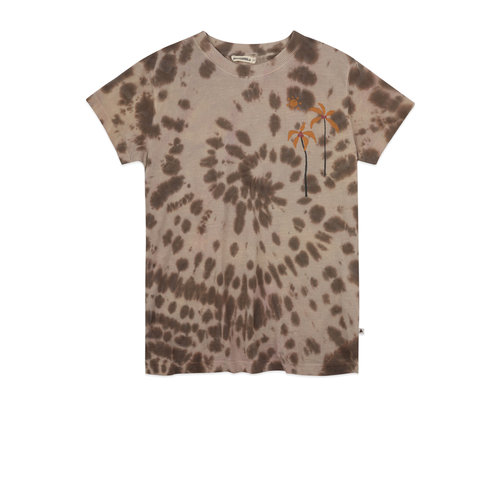 ammehoela T-shirt tie dye coffee
