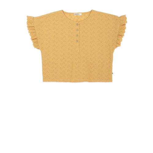 ammehoela T-shirt mustard yellow