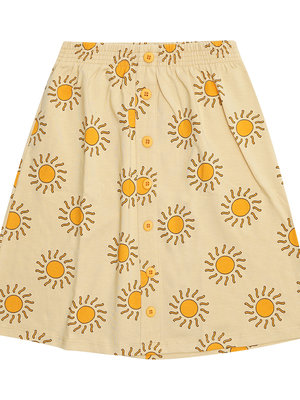 CarlijnQ Sunshine long skirt with buttons