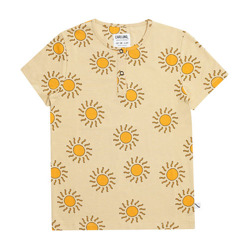 CarlijnQ Sunshine henley short sleeves