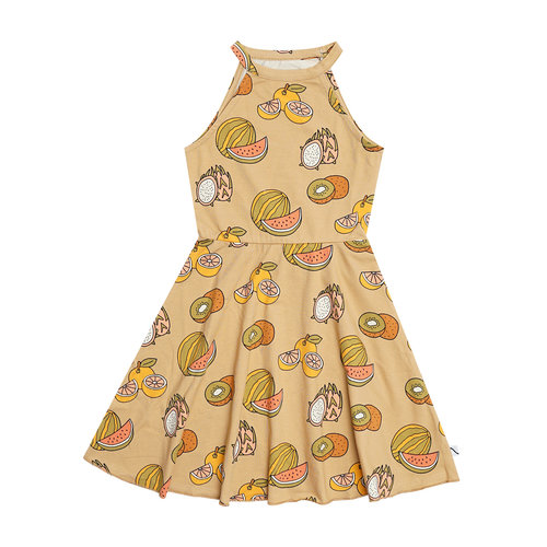 CarlijnQ Summer fruit halter dress