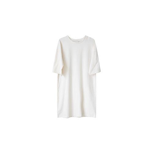 Idigdenim Ricky oversized dress off white