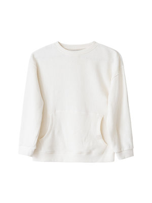 Idigdenim Robin oversized sweater ecru