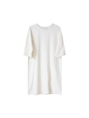 Idigdenim Ricky oversized dress off-white