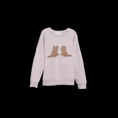 Wander & Wonder Summer sweatshirt mauve