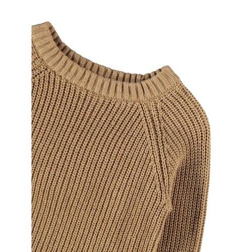 Lil' Atelier Milio knit sweater apple cinnamon