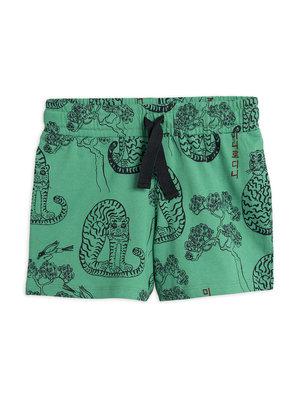 Mini rodini Tiger short green