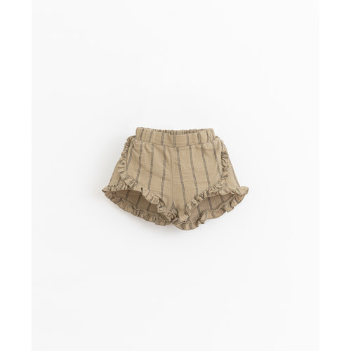 Play Up Striped woven shorts  11703 P7154
