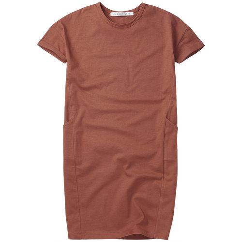 mingo T-shirt dress sienna rose