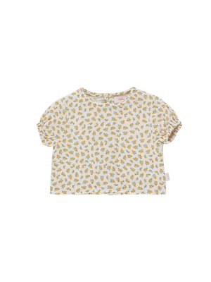 Tiny cottons Small flowers baby shirt