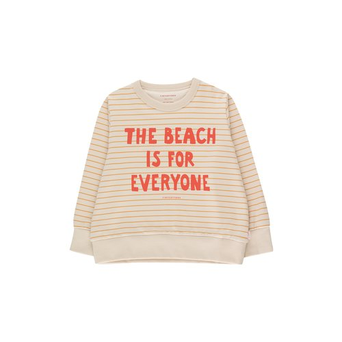 Tiny cottons Manifesto stripes sweatshirt