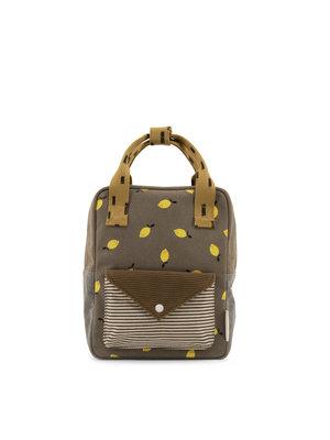sticky lemon Sticky lemon backpack small pigeon- woody green