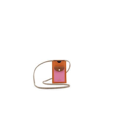 sticky lemon Sticky lemon phone pouch XL carrot orange + syrup brown + bubbly pink