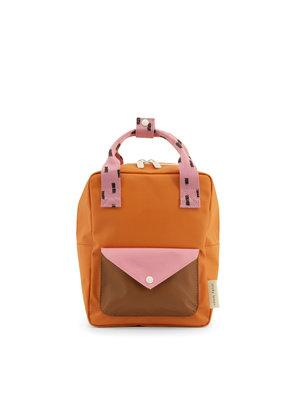 sticky lemon Sticky Lemon backpack small | sprinkles envelope carrot orange + bubbly pink + syrup brown