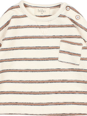 Buho Baby navy stripes sweater 9116