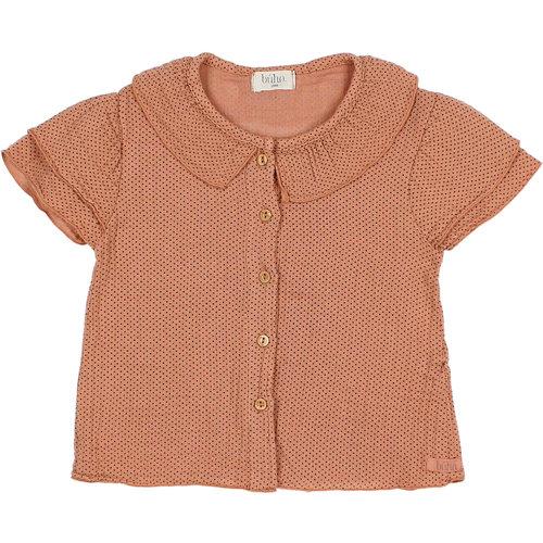 Buho Baby mini dots blouse 9142