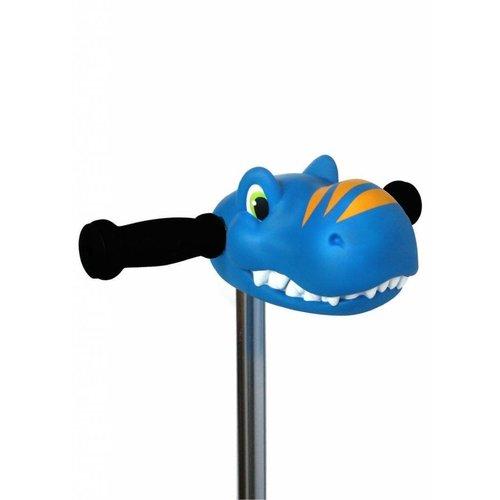 Microstep Scootaheadz dino blauw