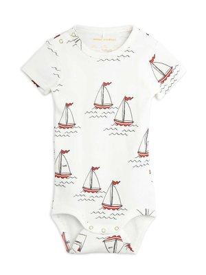 Mini rodini Sailing boats aop ss body