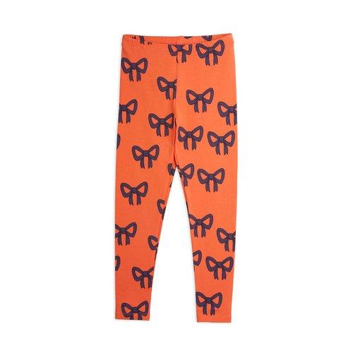 Mini rodini Bow aop leggings