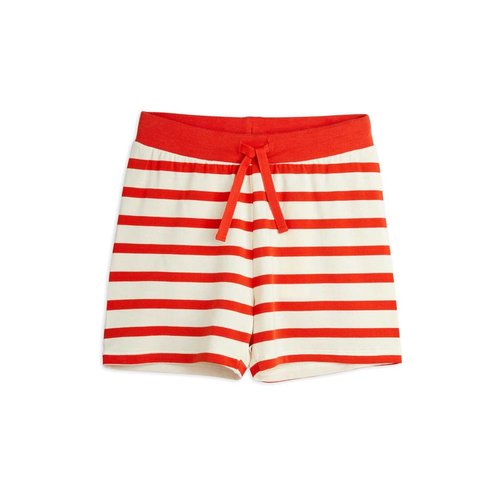 Mini rodini Stripe shorts red