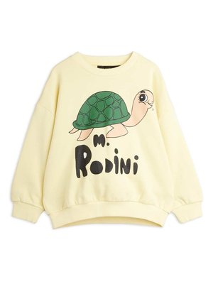 Mini rodini Turtle sp sweatshirt yellow