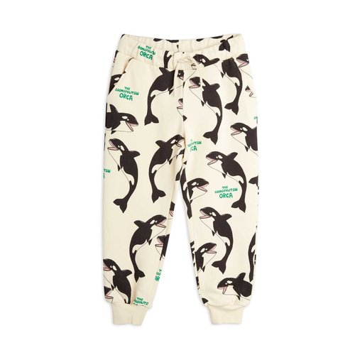 Mini rodini Orca aop sweatpants