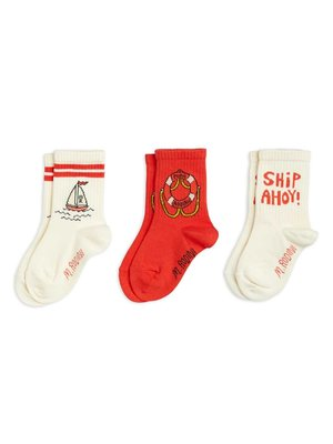 Mini rodini Float 3-pack socks