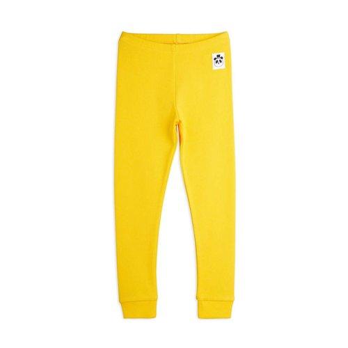 Mini rodini Rib leggings yellow