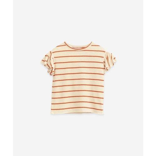 Play Up Gestreept shirt 11051
