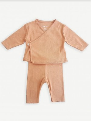 Play Up Ajour set wrap top met legging 11551