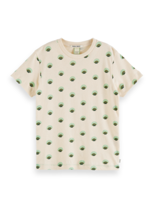 Scotch & Soda Tshirt with all over print 162429